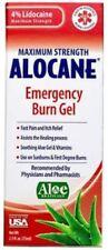 ALOCANE EMERGENCY BURN GEL 3.75OZ 846241006469YN