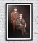 "Dwight & Mose Painting Reprint 19"" x 13"" The Office Dunder Mifflin"