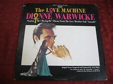 LP OST ARTIE BUTLER The Love Machine DIANNE WARWICKE  1971