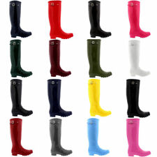 Ladies  Womens Winter Waterproof  Wellies Wellington Boots Size 3 4 5 6 7 8 9