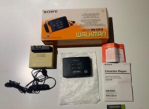 Vintage Rare Sony WM-EX618 Personal Walkman Cassette Player Boxed !