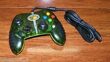 Mad Catz (4526) Macro Transparent Green Wired Xbox Game Pad Controller