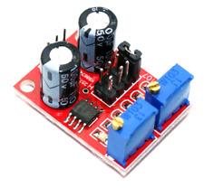 Scheda generatore di impulsi con frequenza onda quadra regolabile 5v-12V ne555