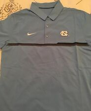 North Carolina Tar Heels Blue Nike Dri-Fit M Medium Golf Polo Shirt New NWT
