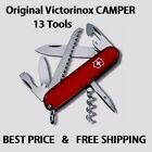 1.3613 VICTORINOX SWISS ARMY CAMPER RED POCKET KNIFE 13 TOOLS 53301