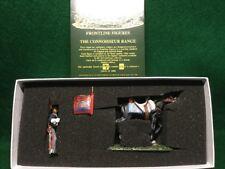 FRONTLINE FIGURES RHG.7 BRITISH ROYAL HORSE GUARDS TROOPER W/STANDARD