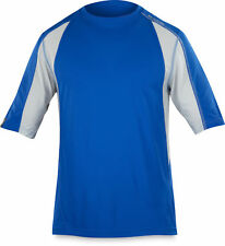 DAKINE Men's Blue Charger Zip MTB Jersey-Large 3/4 Zip w/Pocket