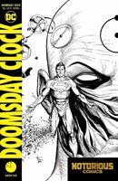 Doomsday Clock #1 11:57 Release Variant B&W DC Comics 1st Print 11/22