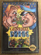 General Chaos- ( Sega Genesis ) Box & Game , No Manual !