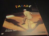 "DVD DIGIPACK NEUF ""PARADE"" Jacques TATI"