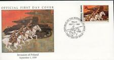 Marshall Islands 1989 WWII Invasion of Poland FDC