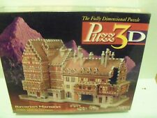 """Puzzle, Puzz3D, """"Bavarian Mansion"""" 418 Pieces 17""""x10""""x10"""" ; Brand New & Sealed"""