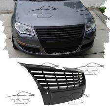 FRONT BLACK GRILL PDC FOR VW PASSAT 3C B6 05-10 NO EMBLEM SPOILER BODY KIT