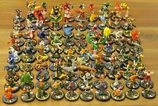 Heroclix Miniatures Lot 100 Marvel DC Champions Hero System Figures Flyers RPG C