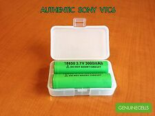 10x GENUINE SONY VTC6 3000mAh 20A 18650 HighDrain Rechargeable Battery