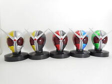 "Kamen Rider W Mask Collection 3"" Figure Lot of 5 Form Authentic Japan k#8091"
