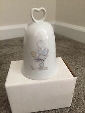 """Enesco Precious Moments 1984 Bell, """"Our Life Will Be In Balance. Trust In Him�"""
