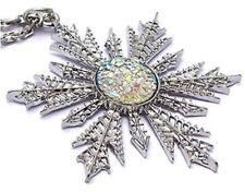 Frozen Snowflake Pendant Charm Necklace Elsa Once Upon a Time