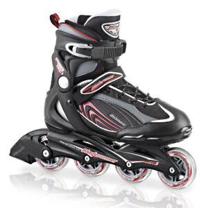 Rollerblade 2013 Pro 80 Men's Inline Skates - Black/Red, UK 8