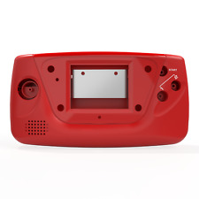 Game Gear Shell Case Sega Red New Replacement RetroSix ABS