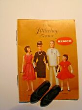 Completer Item Black Shoes Only from Remco Libby Littlechap Ya Ya Dress No Doll