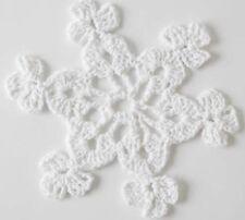 Cx6 - Crochet Pattern to make Christmas Winter Snowflakes ❄️