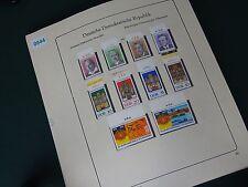 DDR 1976/1983 Postfrische MNH Ober- Rand Sammlung I Zusammendrucke, Kleinbögen