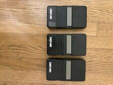 3 Genie garage door remotes Model # gt90-1