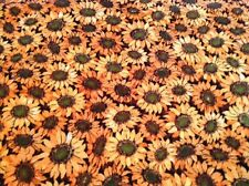 Fabric Sunflowers 26031, sold by the yard