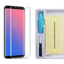 For Samsung Galaxy S10,S10Plus UV Full Glue Gorilla Curved Liquid Tempered Glass