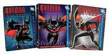 Batman Beyond - Complete DC Cartoon TV Series Seasons 1 2 3 Box / DVD Set(s) NEW