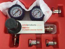 Engine Cylinder Differential Leakdown Tester Dual Gauge Kit High Pressure 100PSI