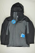 NEW MENS Columbia Eager Air II 3-in-1 Insulated Black Jacket sz XXL #75-99197