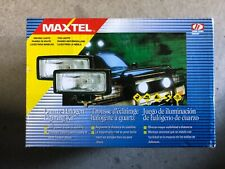 MAXTEL halogen driving fog lights**JF 226 BW**NIB**Set of 2**