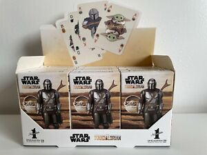 Winning Moves Number 1 Spielkarten Mandalorian Baby Yoda Star Wars Kartenspiel