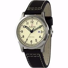 St. Moritz GS03610/31 Gents Cream Dial Leather Strap Swiss Made Watch RRP £249