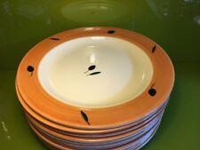 One Poole Pottery Fresco Terracotta Dinner Plate By Rachel Barker VGC Free P&P