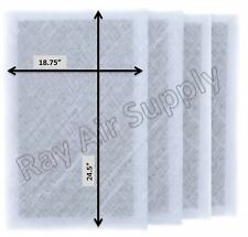 RayAir Supply Dynamic RS3-1400 Replacement Filter Pads (4 Pack) White