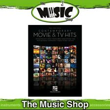 New Contemporary Movie & TV Hits PVG Music Book - Piano Vocal Guitar