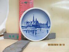 Royal Copenhagen Mini-Plate 5-2010 Kronborg Slot - 3 1/4 Inch Diameter