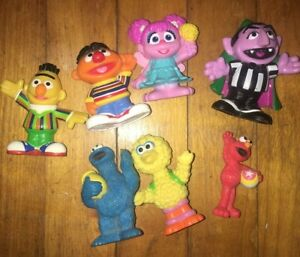Sesame Street Toy Doll Figures