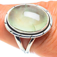Prehnite 925 Sterling Silver Ring Size 8 Ana Co Jewelry R58808F