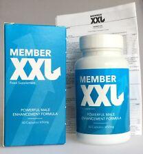 Member XXL - (122,82 €/ 100g) 60 Capsule - Nuovo e Confezione Originale -