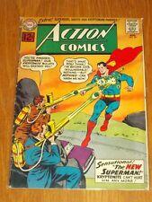 ACTION COMICS #291 VG- (3.5) DC COMICS SUPERMAN AUGUST 1962<
