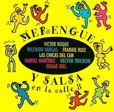 MERENGUE Y SALSA EN LA CALLE 8 / CD - TOP-ZUSTAND