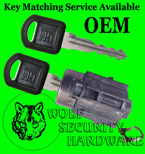 Chevy Avalanche 02-06 OEM Rear Tailgate Lock Cylinder 2 Keys Key Match Offered