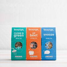 Feel Good Bundle of Tea Bags - Tea Pigs - 15 Biodegradable Tea x3