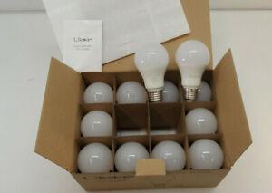 (12-Pack) Litake LED Light Bulbs 100W Equivalent A19 E26 5000K Daylight White