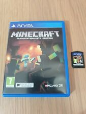 MINECRAFT PLAYSTATION PS VITA GAME! PAL UK. VERY GOOD CONDITION