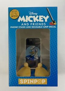 ~NEW~SPIN POP-DISNEY 'Mickey&Friends' DONALD Phone Stand&Reusable Grip Decal